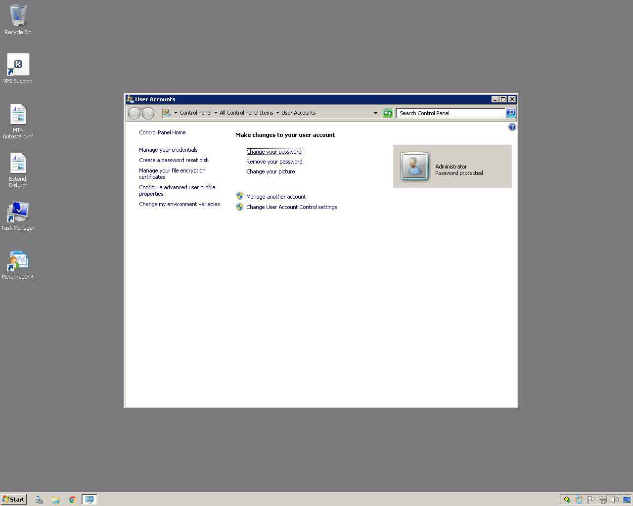 Forex VPS Windows Server 2008 Password Change 03