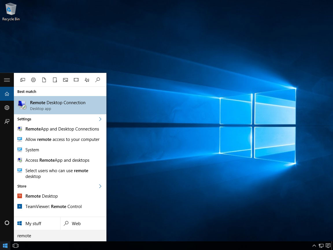 Windows 10 RDP 02