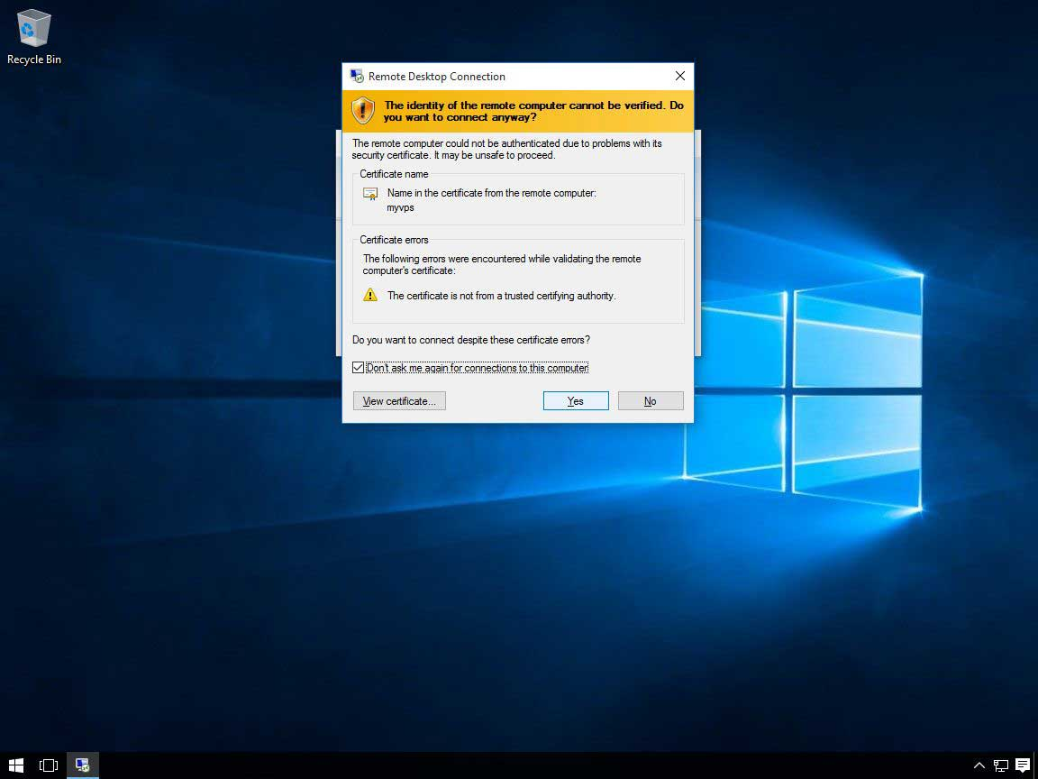 Windows 10 RDP 09